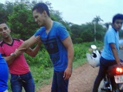 Jovem sofre acidente na ladeira da morte em Tanque do Piauí