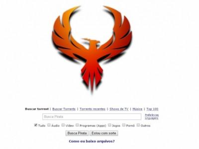 Com logotipo de fênix, site de torrents The Pirate Bay volta ao ar
