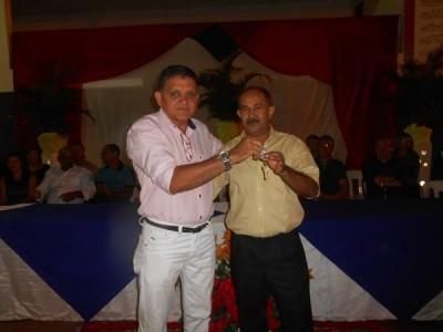Arão Mambenga toma posse como Presidente do Crovapi Clube de Valença. FOTOS