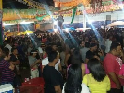 Segunda feira de carnaval, o terceiro dia consecutivo em Valença do Piauí