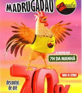 MADRUGADÃO PARAÍBA! NOS DIAS  30 E 31/ 05/2016