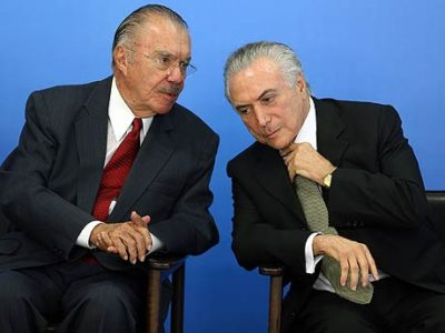Em gravação, Sarney promete ajudar ex-presidente da Transpetro, mas 'sem advogado no meio'