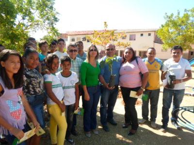 Valença do Piauí recebe o projeto Piauí mais verde do Governo do Rstado
