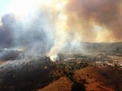 Bombeiros combatem novo incêndio há mais de quatro dias no Sul do Piauí