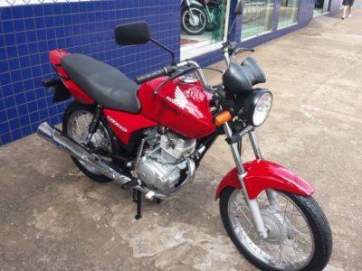 Motocicleta é furtada no bairro Ipueiras