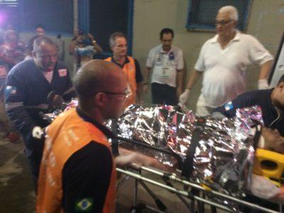 Três das 20 vítimas de acidente com carro da Tuiuti na Sapucaí seguem internadas