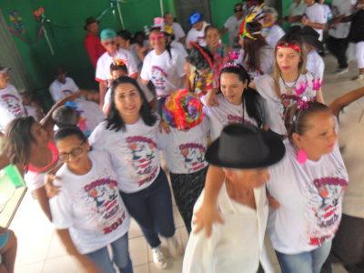 """"""" GIRO PELA CIDADE"""" secretaria Municipal de Assistência Social promove Carnaval da 3ª Idade no (CCI)"""